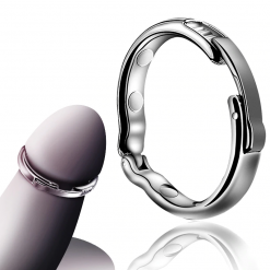 Runyu Magnet Cock Ring Metal Penis Sleeve For Male Extender Penis Enlargement Condoms Sex Toys Intimate Goods Ring On The Penis